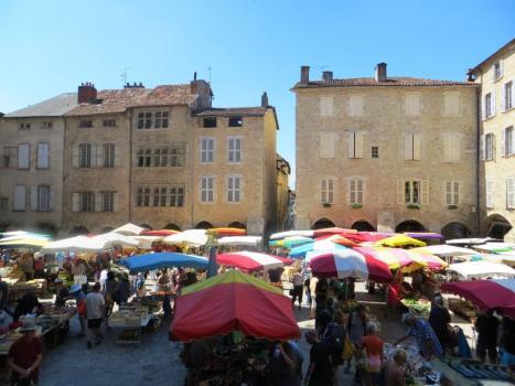 Villefranche-de-Rouergue market