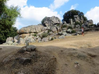 Quarry at Filitosa