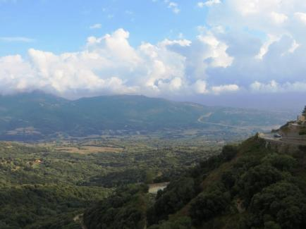 View south from Olmeto