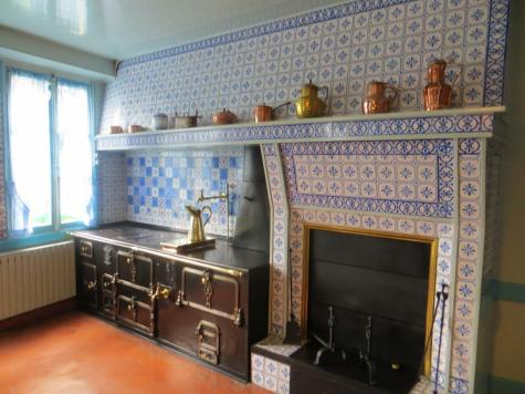 Kitchen in Monet's house