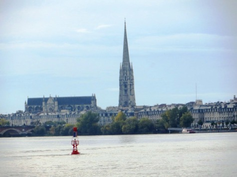 La Flêche - Saint-Michel bell tower - taken from the Chartrons quays