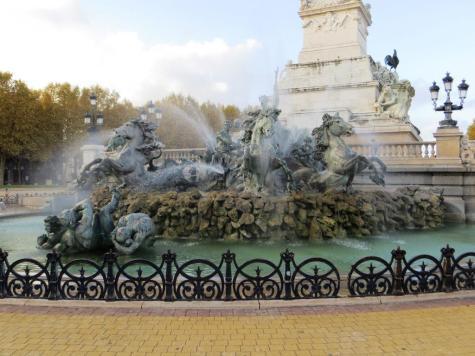 Monument des Girondins - detail