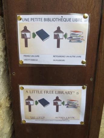 Mode d'emploi en anglais et français