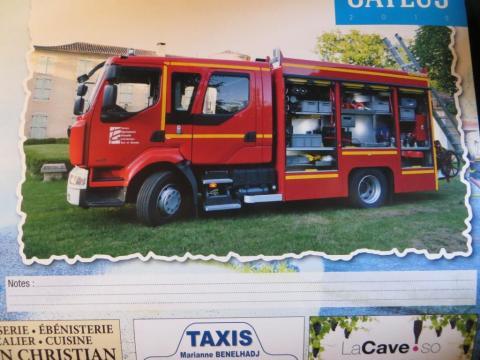 Fire brigade's calendar