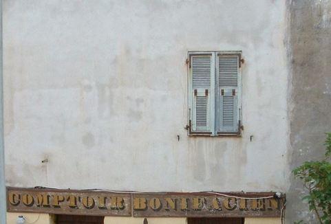 Shutters in Bonifacio, Corsica