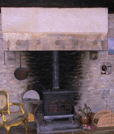 Fireplace - centre of the house