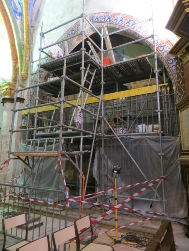 Restoration in progress