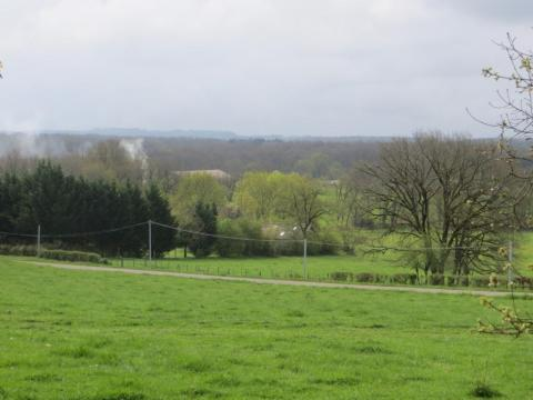 Spring view from the chapel