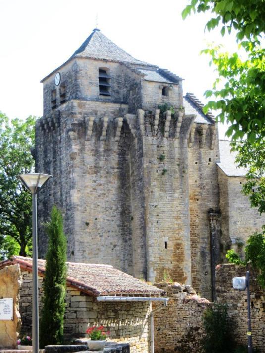 Lacapelle-Livron - Templar commandery