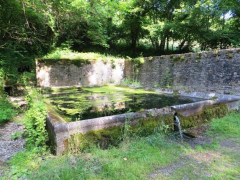 Lavoir near the Bonnette, below Lacapelle-Livron