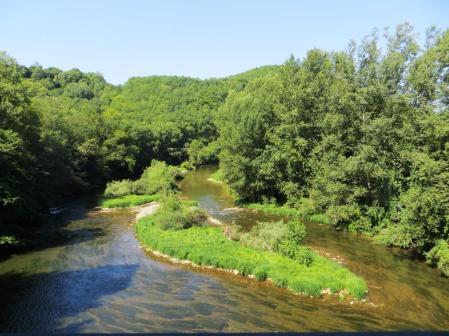 The Aveyron at Féneyrols
