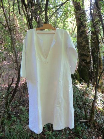 Whiter than white chemise