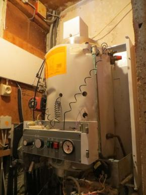 Outgoing boiler (minus cover)