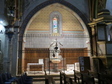 After - restored side chapel