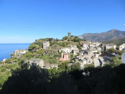Corsican village that inspired my novel