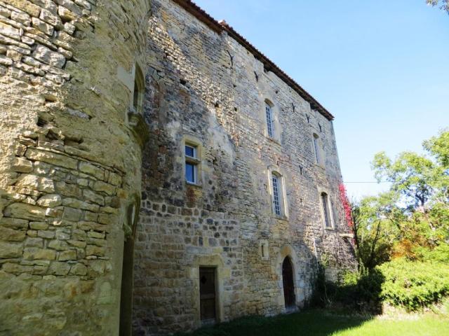 Château de Labro rear elevation