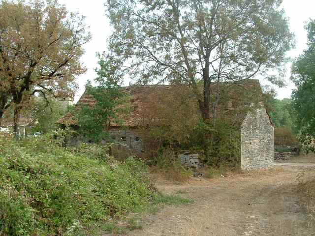Stones - barn before