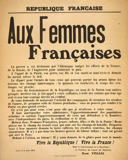 Exhortation to French women