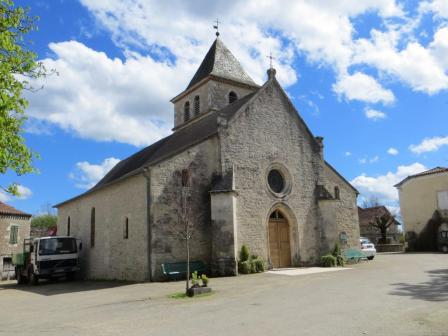 Church at Bach with 12th-century origins