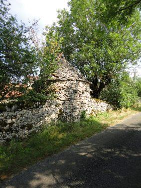 Gariotte (shepherd's hut) at Bach