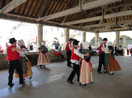 Traditional dancing at our fête several years ago