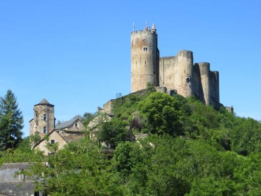 The imposing château de Najac, a landmark for miles around