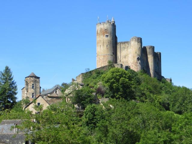 The imposing château de Najac, a landmark for miles around