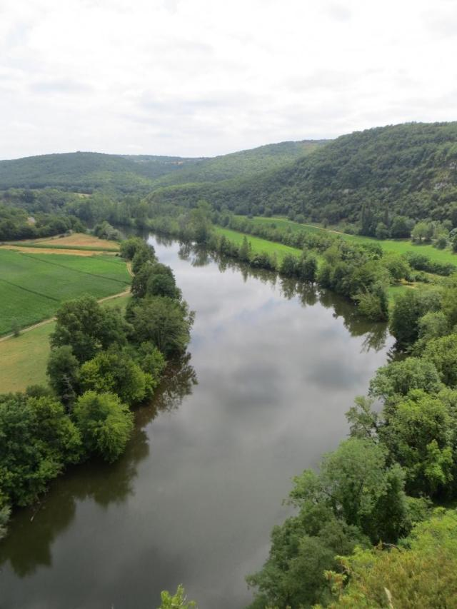 River Lot from the château