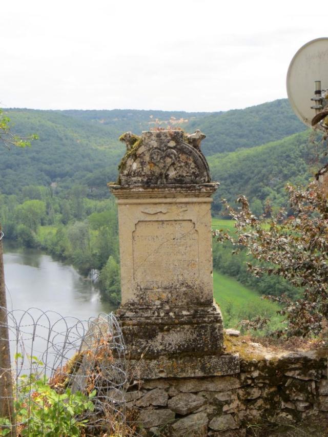 Catherine Couderc's tombstone
