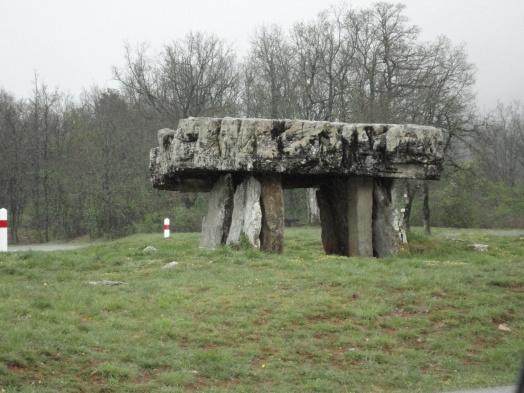 Dolmen near Vaour, Tarn
