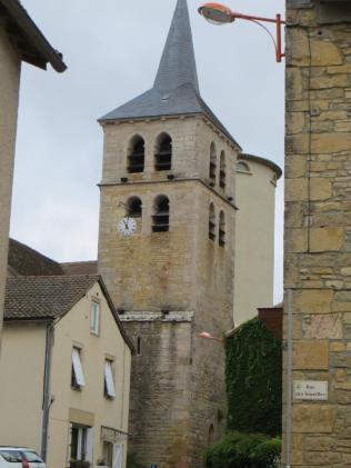 Puylagarde church