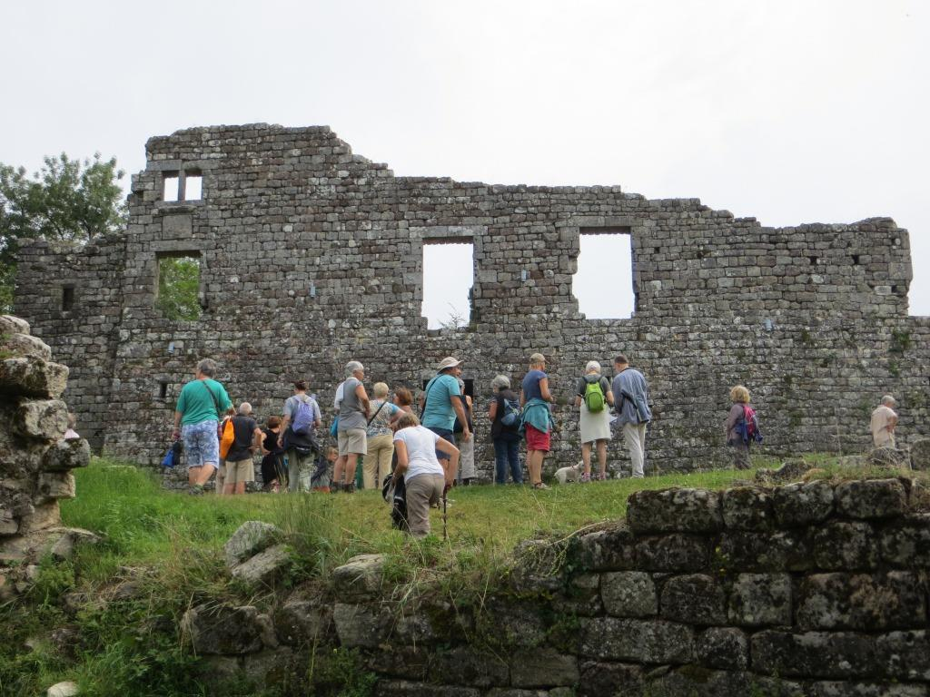 Vaour - commandery ruins