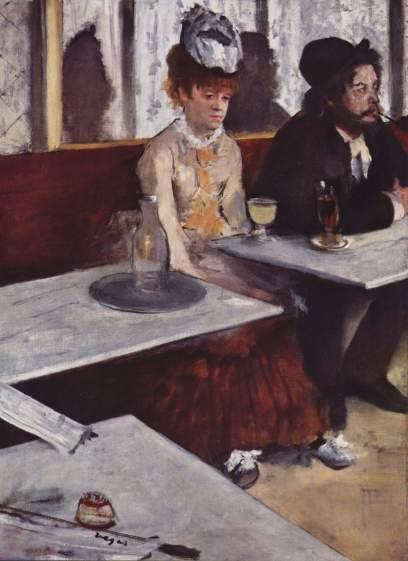 Degas - L'Absinthe