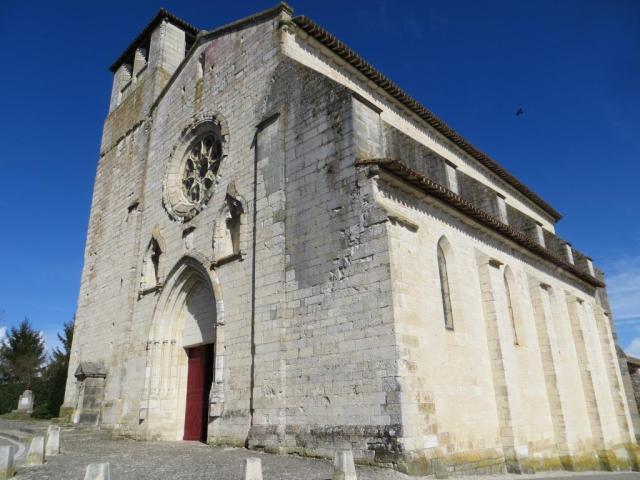 Montpezat - Collégiale de Saint-Martin