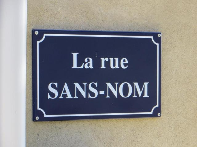 Montpezat - street name