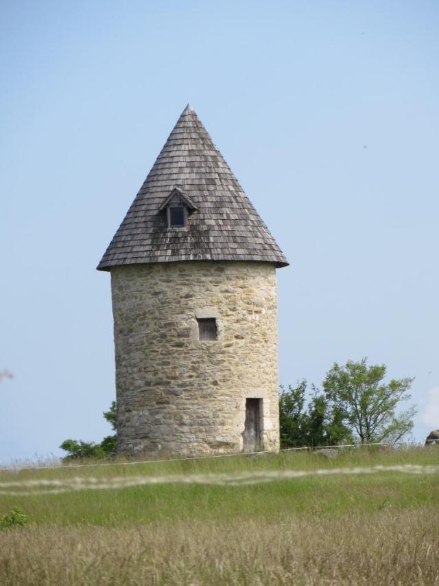 Caylus - moulin de G