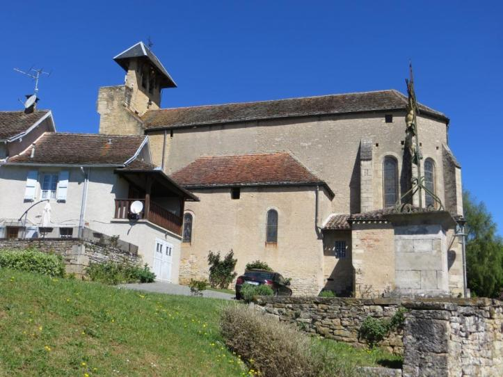 Loze - church