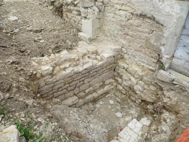 Mur de l'ancien église