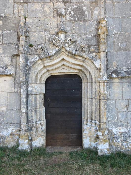 Notre-Dame des Grâces doorway