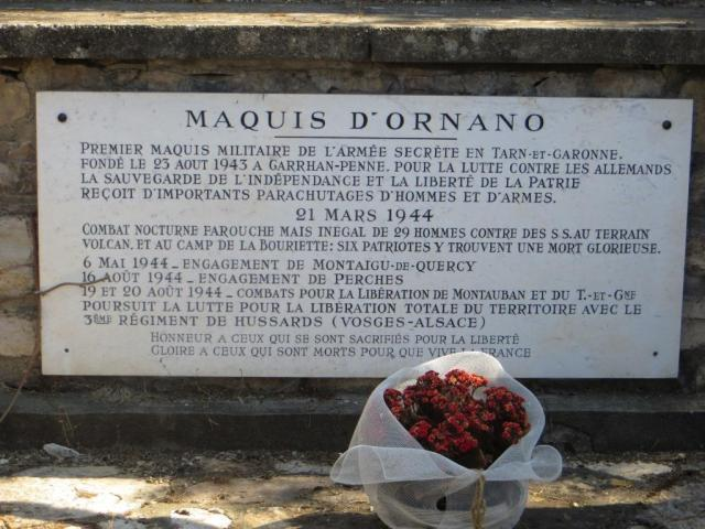 Ornano monument plaque 2