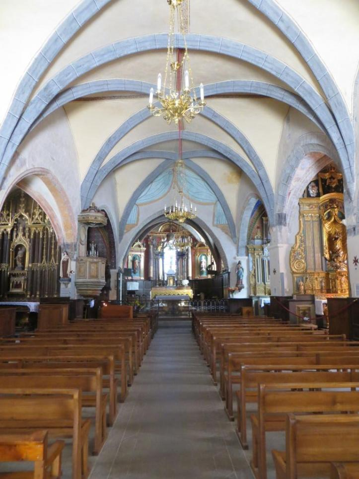 Marcoles church interior