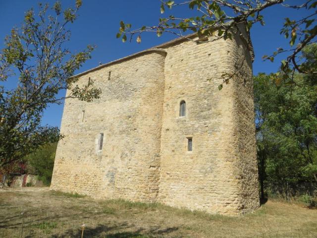 Toulongergues - side view 1