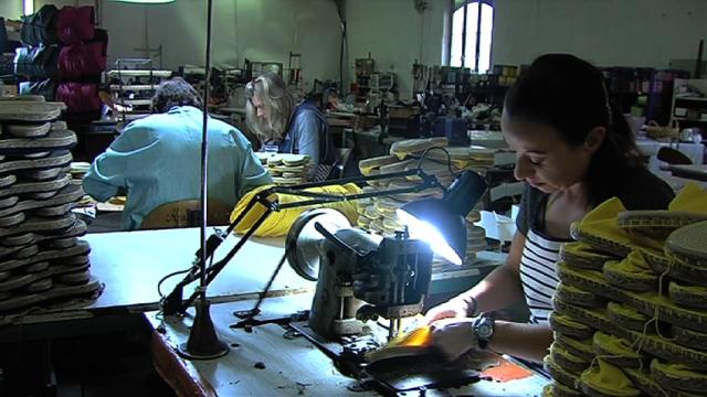 Espadrille factory