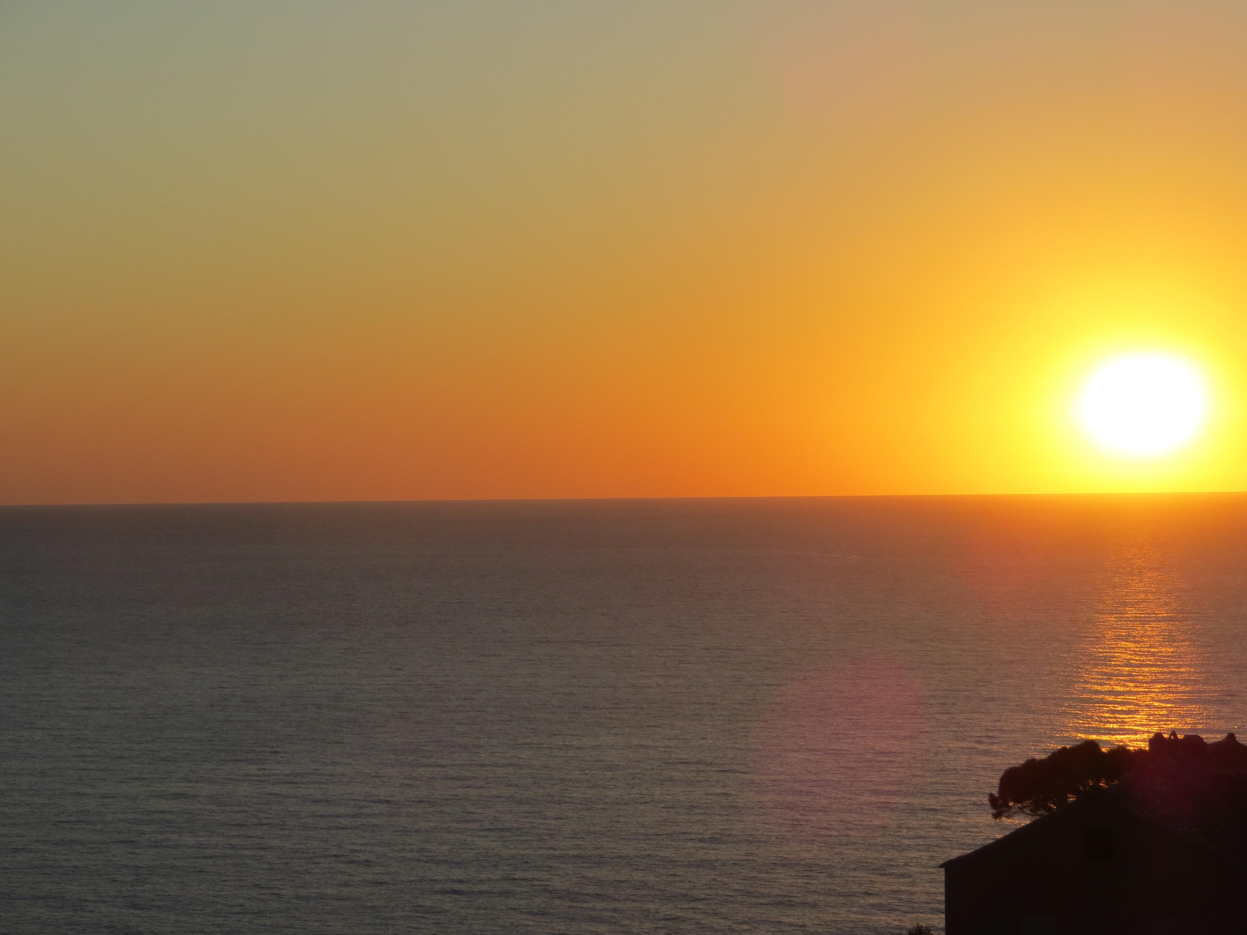 Corsican sunset on Cap Corse