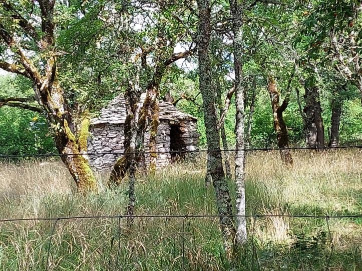 Stone shepherd's hut Causse de Limogne France