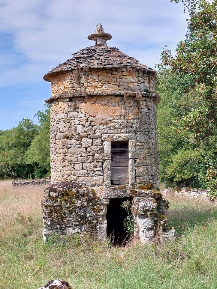 Stone dovecot in SW France