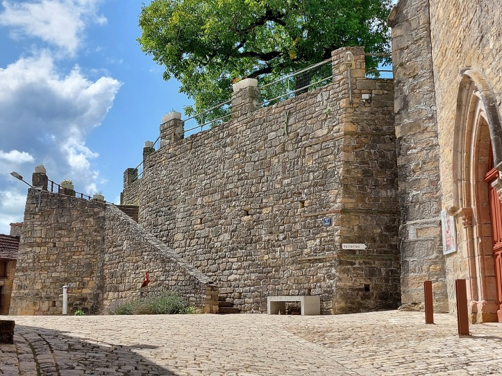 Defensive wall France
